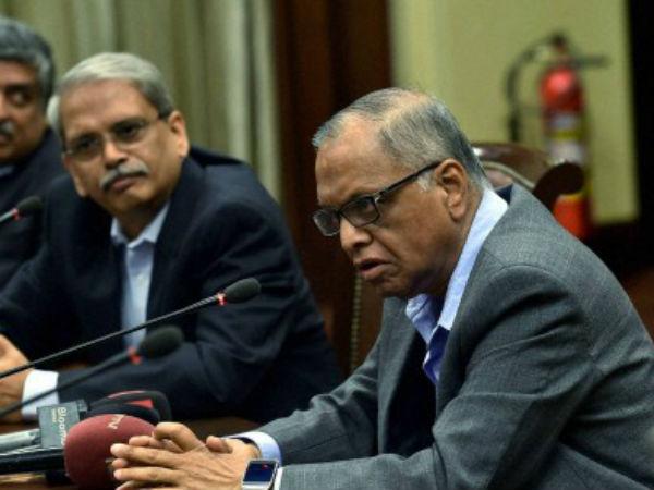 Have no regrets, says Narayana Murthy