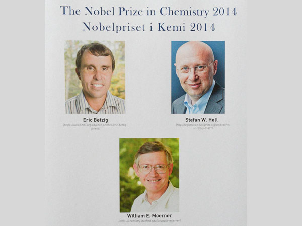 2014 Nobel prize in Chemistry goes to 3