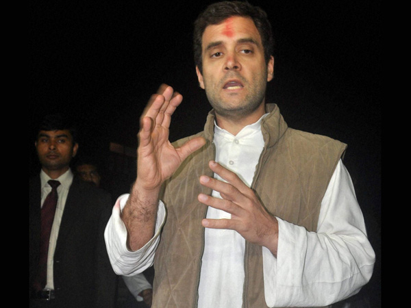 Modi govt catering to the rich: Rahul