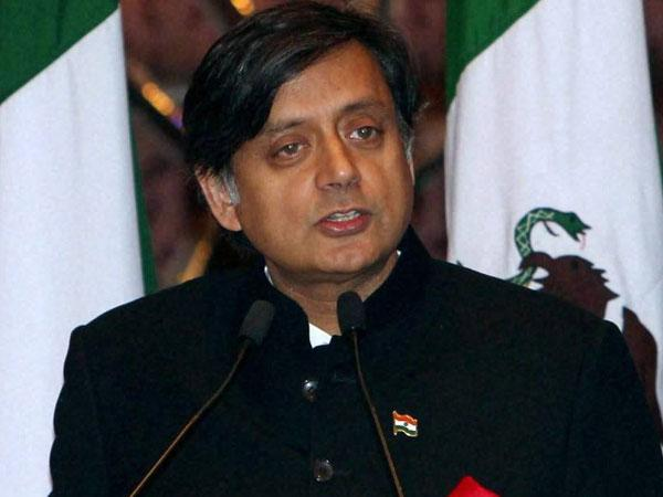 Former Union Minister Shashi Tharoor