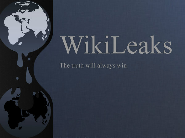 Now, get ready for 'Wikileaks' T-shirts