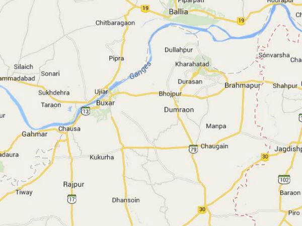 Ranvir Sena men held in Bhojpur.