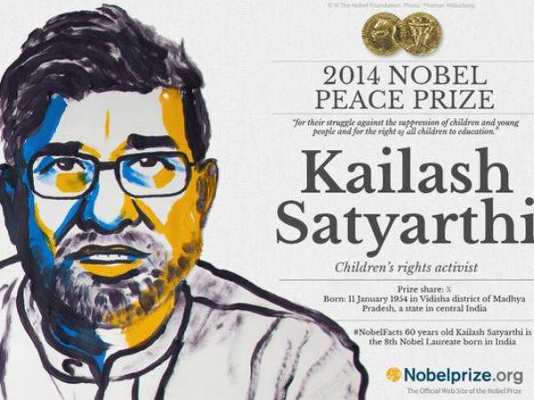 Kailash Satyarthi, Nobel Peace Prize 2014 winner.