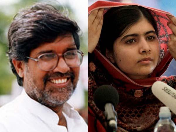 Twitter praises Malala, Kailash
