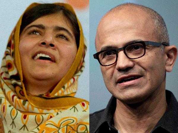 Malala-Satya Nadella