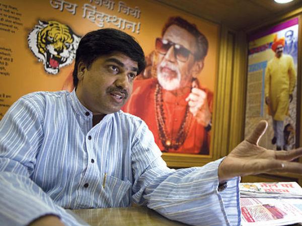 Shiv Sena leader Prem Shukla.
