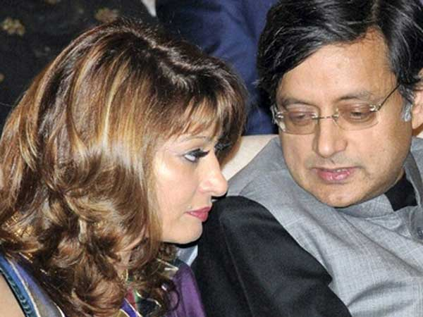Sunanda's death: No comments by Tharoor