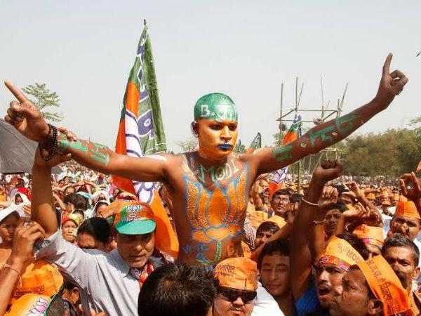 A BJP suppor