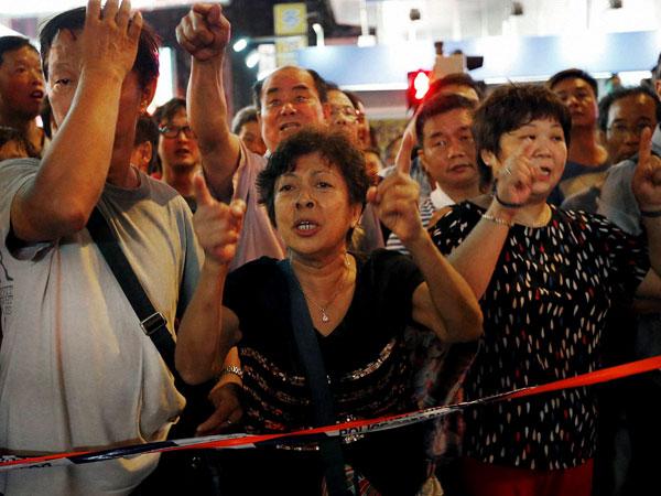 China accuses American hand behind Hong Kong protests
