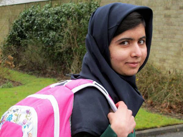 Malala happy to share prize with Kailash
