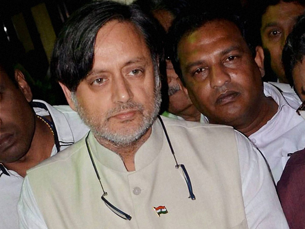 How Tharoor reacts after being sacked!
