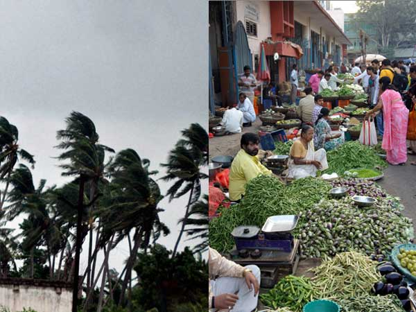 Cyclone Hudhud hits commodity prices too