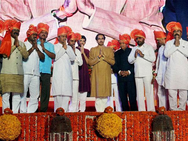 Sena attack BJP,calls Cong, NCP