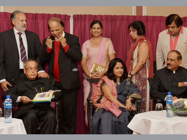Dinner hosted for Pranab Mukherjee