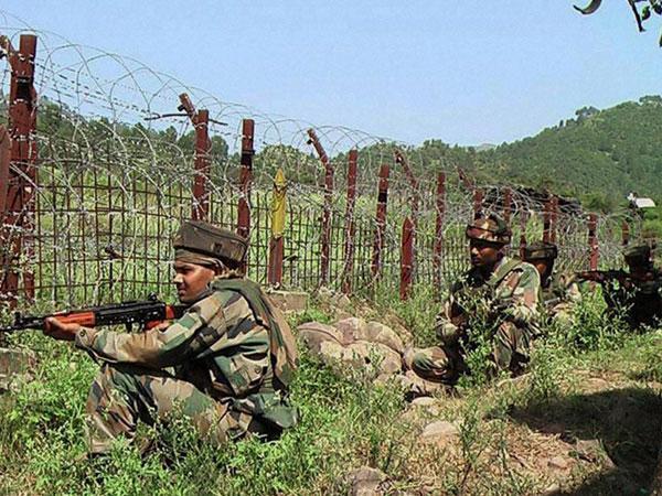 Army jawans at LoC