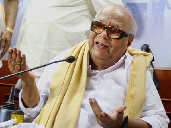 DMK chief hits out at TN Guv