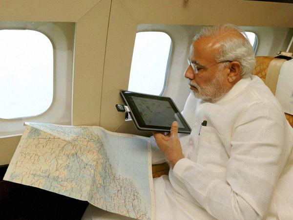 Modi reaches cyclone-hit Visakhapatnam