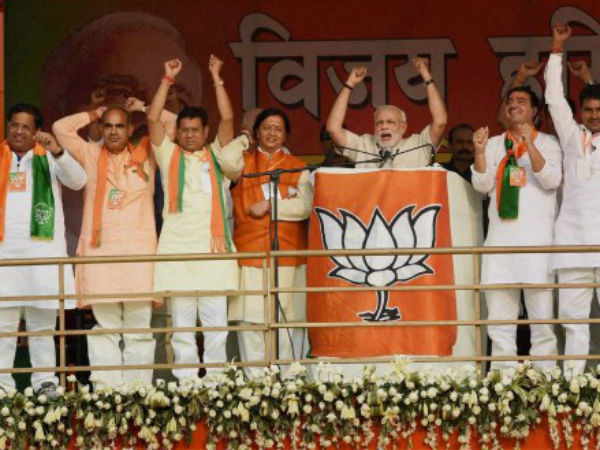BJP will emerge as single largest party in Haryana by winning 46 seats.