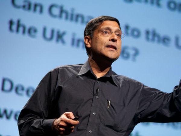 Arvind Subramanian.