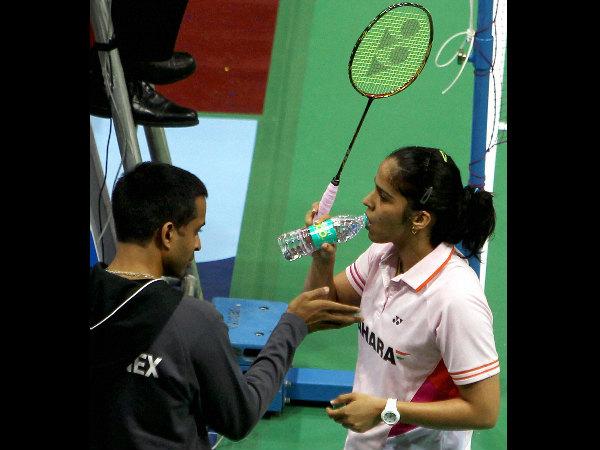 File photo: Gopi and Saina