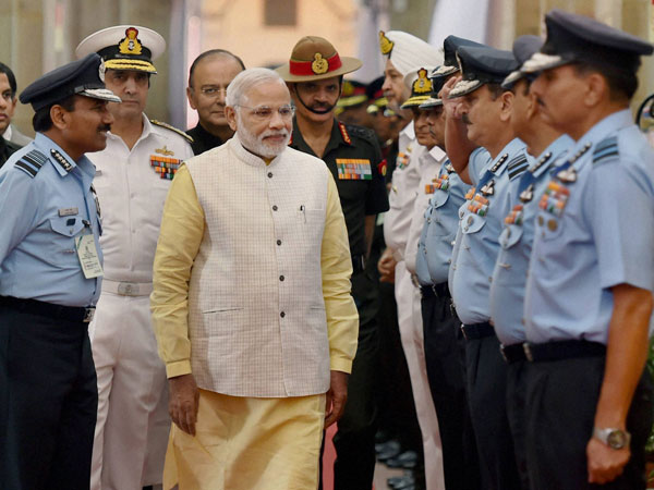 PM Modi meets service chiefs