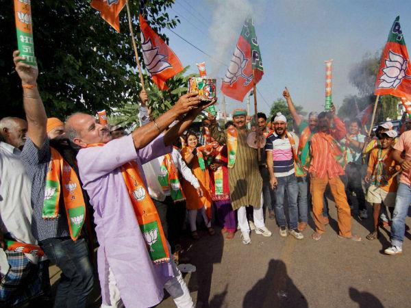 BJP wins in Haryana. (PTI image)