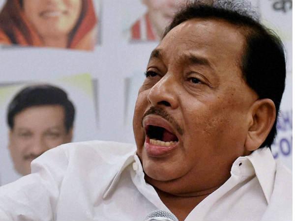 Congress leader Narayan Rane