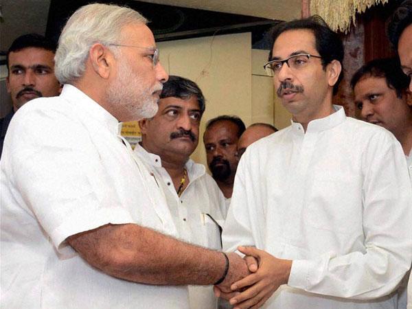 Uddhav Thackeray and Modi