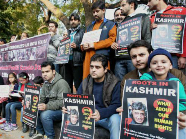 Kashmiri Pandits have been constantly demanding their rehabilitation in their ancestral lands since decades.