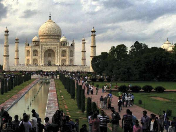 Clean India message on Taj Mahal tickets