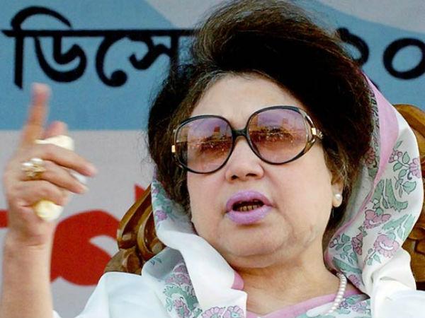 Former Prime Minister Khaleda Zia.
