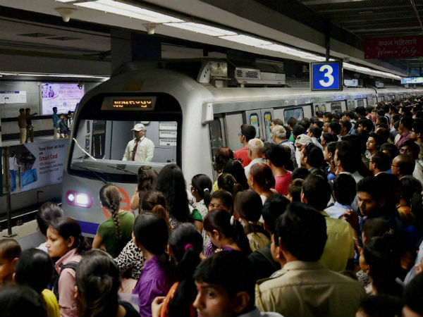 Delhi Metro (PTI photo)
