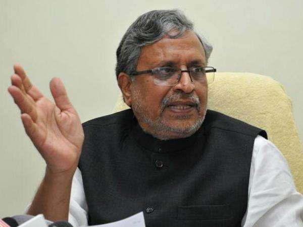 Nitish protecting criminals in Bihar', says Sushil Kumar Modi.