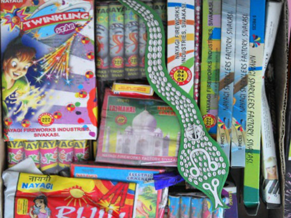 Sivakasi firecrackers are famous in the market.