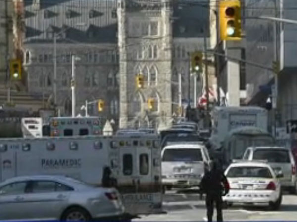 Canada on high alert after attack on Parl