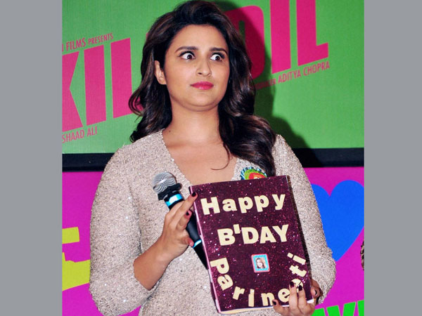 Bollywood actress Parineeti Chopra during the song launch