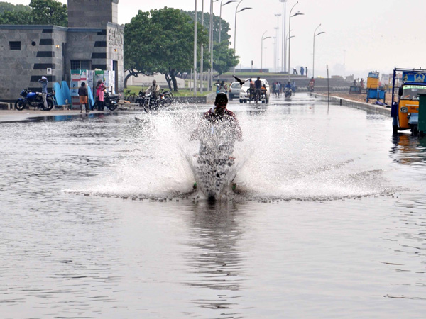 Heavy rainfall in Chennai