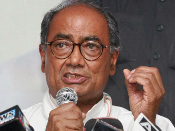 Digvijay accusses Modi of lying