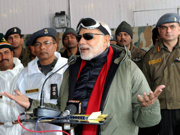AAP praises Narendra Modi