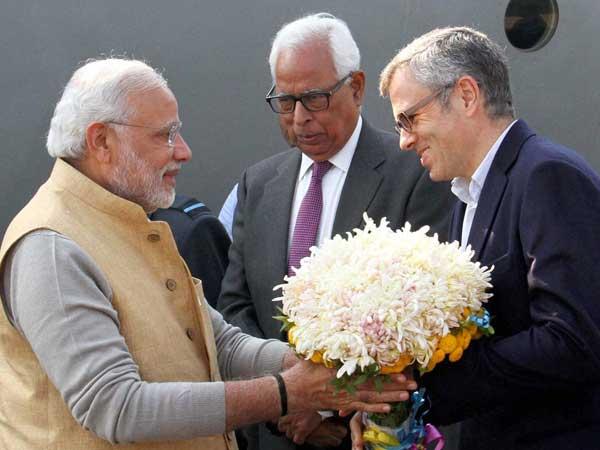 Narendra Modi praises Omar Abdullahc