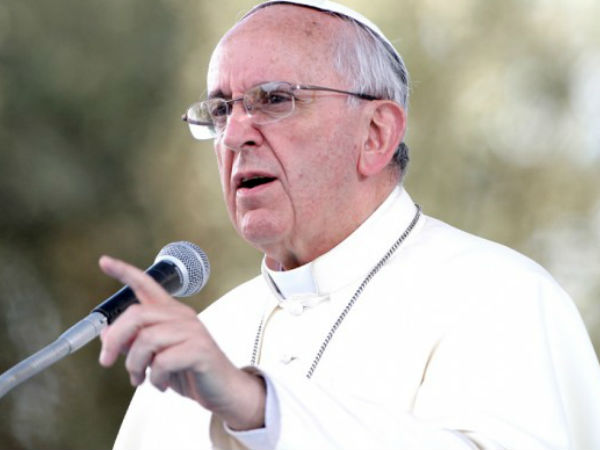 Abolish death, life terms: Pope Francis