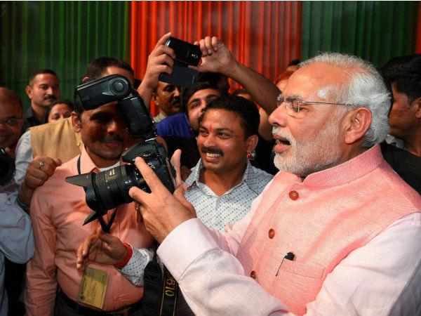 By befriending media, PM Modi has ended Congress's faint hopes