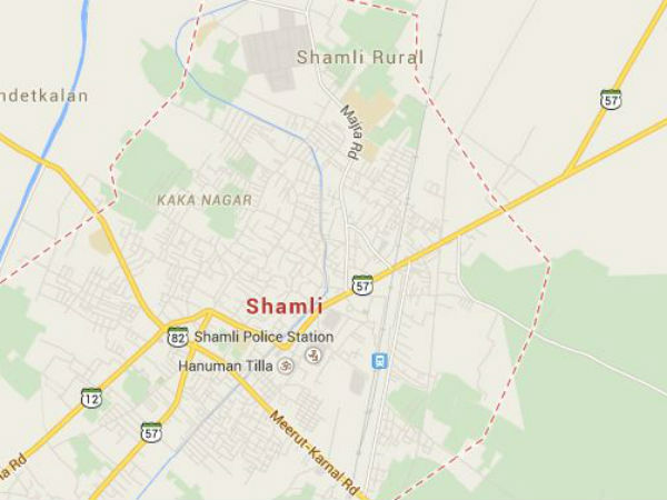 Woman's half-naked body found in Shamli district of UP.