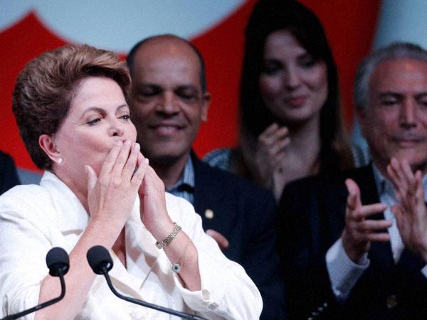 Dilma Rousseff re-elected as Brazil prez