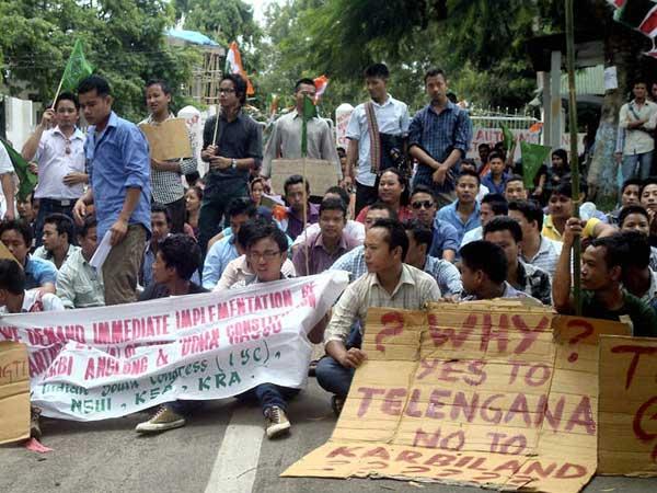 Assam: 1,000-hour strike begins