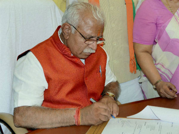 Not going to act out of vindictiveness: Khattar on land scams