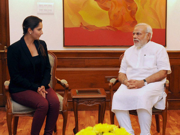 Modi congratulates Sania Mirza for WTA