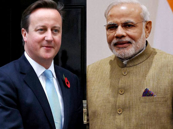 Cameron keen to play host to Modi