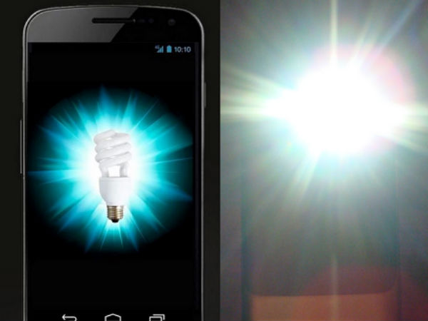 Flashlight apps stealing your data?