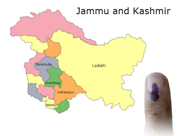 Parties to contest J&K elections alone!